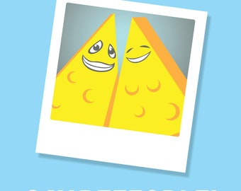 """8"""" x 10"""" Say People! Funny Photographer's Cheese Print- Free Shipping to US for limited time"""