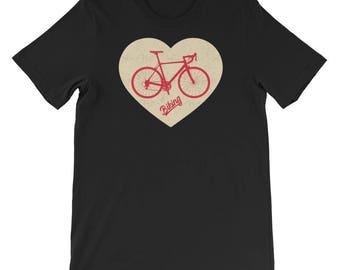 Women's vintage bicycle shirt, bike shirt, bicycle, cycling shirt, bicycle tshirt, bike tshirt, bicycle tee, bike t shirt, vintage bicycle