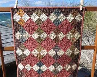 Vintage Doll Quilt or Accent Piece