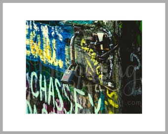 """8x10 Matted Print of """"Locking in Love"""""""