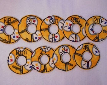 pittsburgh steelers closet divider set