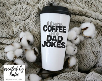 Dad Jokes |  16 oz Travel Mug