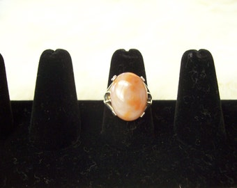 Agate & Sterling Ring