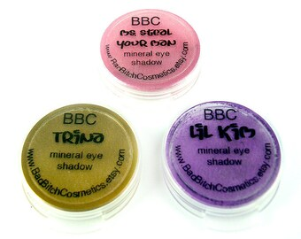 SAMPLE Choose 3 - BBC Mineral Eyeshadows