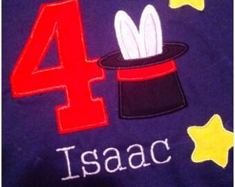 Magic Show Birthday Shirt
