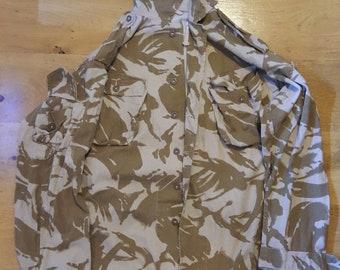 Desert DPM Tropical Shirt jacket Genuine British Army Old School Type