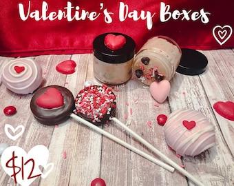 Valentine's Day Dessert Box