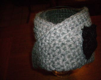 Hand-made crochet Snood