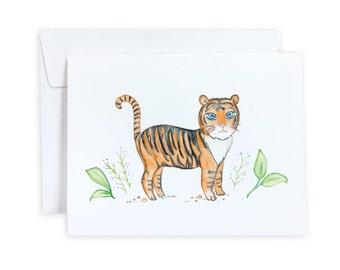 Tiger Greeting Card or Notecard Set