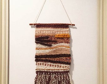 Warmed earth, hand weaving