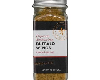 Spicy Buffalo Wings Popcorn Seasoning – Great Food Gifts !