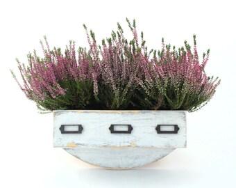 Wall herb planter, Wal hanging Flowerpot, Box for Herbs, Handmade box, Garden herbs, Herb garden, Wall hanging garden, Spring home decor