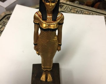 Unique Egyptian Goddess Isis  Statue Made IN EGYPT