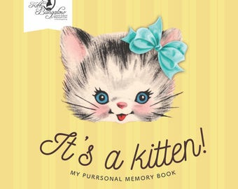 It's a Kitten! Baby Book