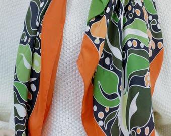 LORIS AZZARO brand silk scarf