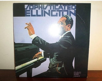 Vintage 1981 Vinyl LP Record Sophisticated Ellington Duke Ellington Near Mint Condition 11299