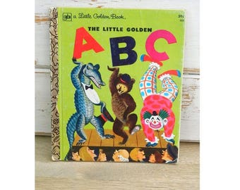 The Little Golden ABC Book - A Little Golden Book - Vintage 1978