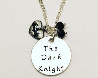 The Dark Knight Batman Bruce Wayne Ben Affleck DC Charm Necklace