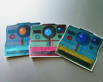 Polaroid Camera Stickers