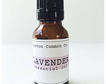 Pure Lavender essential oil / 15 ml true Lavender essential oil / relaxing /calming / healing / meditating