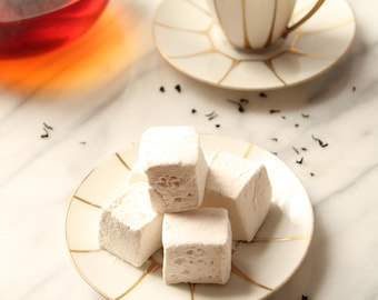 Earl Grey Tea and Vanilla Marshmallows  Organic 16 PCS