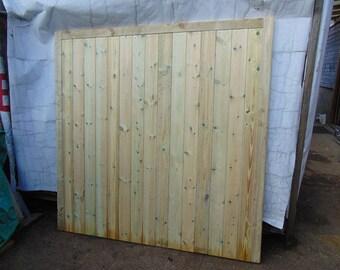 Wooden Garage Door Tongue & Groove Single Garage Door (SINGLE DOOR)