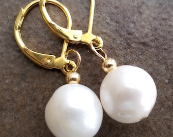 Freshwater Pearls with Gold