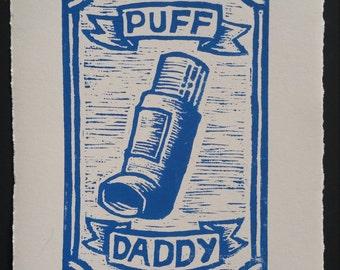 Puff Daddy Handmade Print