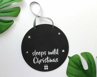 Charmed for Kids christmas count down hangers