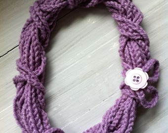 Unique Hand-Knitted Accessory Scarf