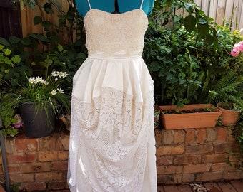 Romantic, vintage lace, dress