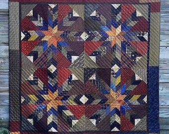 Primitive Quilt Pattern - Shot Gun Wedding - Quilt Pattern