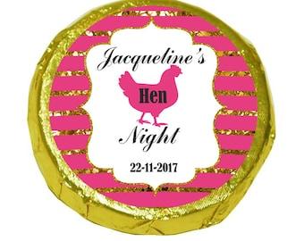 50 Personalised Bridal shower/ Bachelorette/ Hen Party Mint Crisps