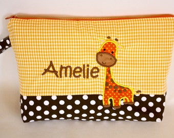 Diaper bags giraffe named desire