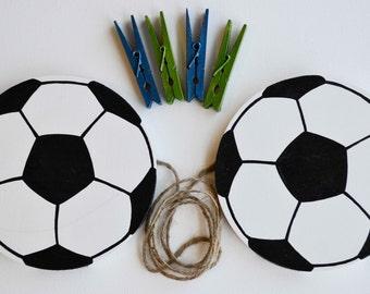 Soccer Art Organizer, Sports Artwork Hanger, Art Display