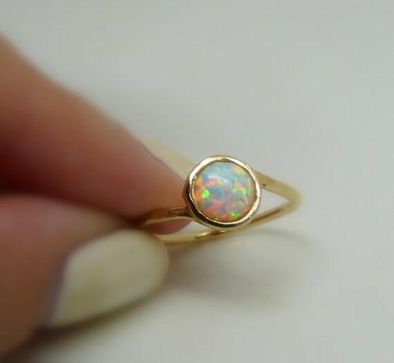 opal ring opal schmuck wei er opal ring gold gef llt opal. Black Bedroom Furniture Sets. Home Design Ideas