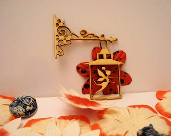 Lantern 1898 wooden creations