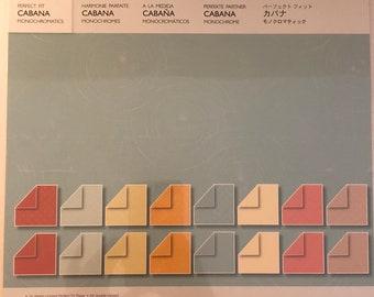 Creative Memories Cabana Monochromatics Paper Pack