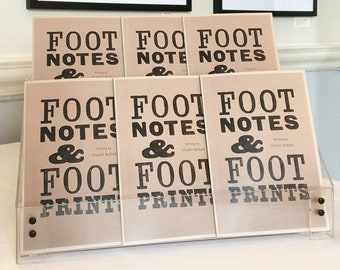 Footnotes & Footprints by Stuart Butler with photographs by Deborah Roberts