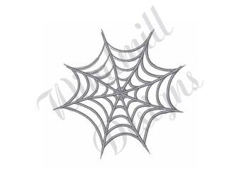 Spider Web - Machine Embroidery Design