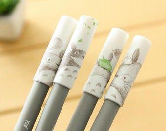 My Neighbor Totoro Black Ink Pen - .4mm - Kawaii Pen, Planner Accessories, Planner Pen, Studio Ghibli, Stationary, Nerdy Gift - IMP50
