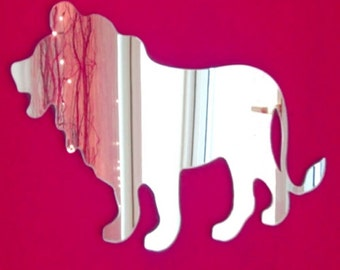 Lion Mirror - 5 Sizes Available