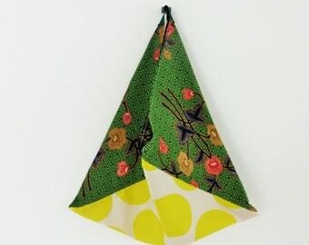 Cyber monday SALE shopping tote bag, batik tote bag, cotton tote bag, geometric shoulder bag, handmade carrier bag, Christmas gift for her