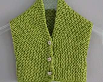 Baby vest   Knitted sweater vest -, 0-10 months