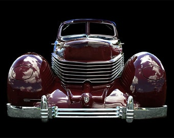 Vintage Classic 1936 Cord Beverly photo