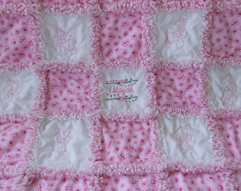 Rag Quillt Instructions Pattern How To