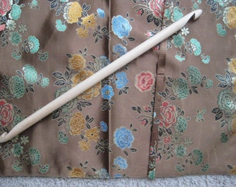 Extremely nice 16 Inches Double End Ended Afghan Tunisian Crochet Hook size US Q 15 mm