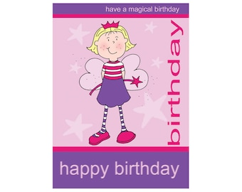 Wise Products  Birthday Card - Fairy