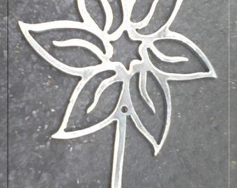Flower Hook Metal Art