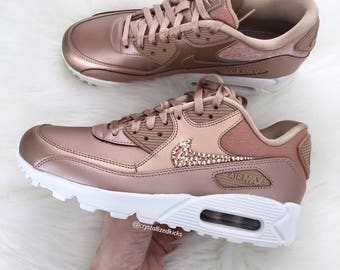 nike air max 90 rose gold metallic